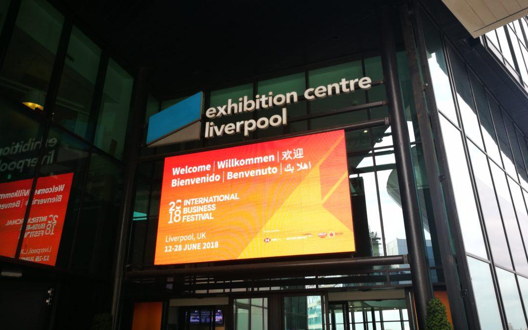 International Business Festival 2018  – Liverpool (UK)
