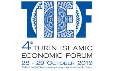 4° TURIN ISLAMIC FORUM 28-29-30 Oct 2019